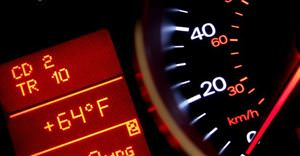 car speedometer dash lights