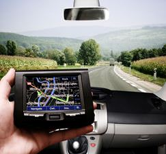 GPS device car