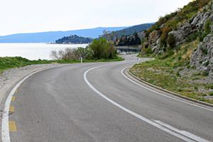 open-curved-road
