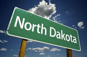 north-dakota-road-sign